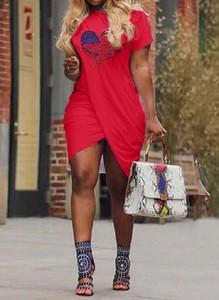 Sukienka Arilook mini z krótkim rękawem sportowa