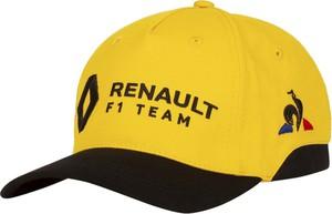 Żółta czapka Renault F1