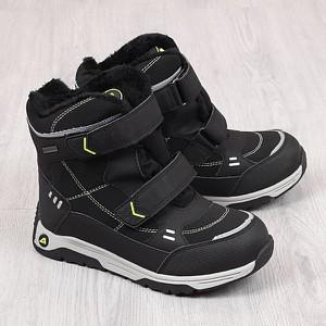 Buty dziecięce zimowe American Club na rzepy