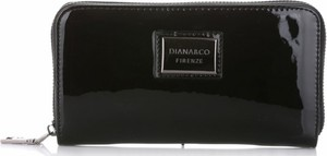Czarny portfel Diana&Co