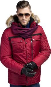 Czerwona kurtka Giacomo Conti w stylu casual