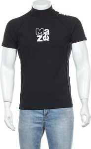 Czarny t-shirt Maze