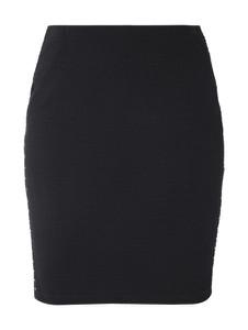 Czarna spódnica Taifun z bawełny