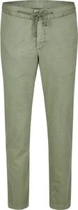 Zielone chinosy Daniel Hechter w stylu casual