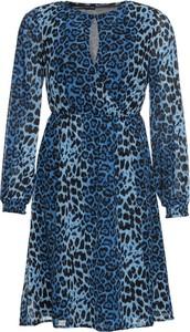 Sukienka bonprix BODYFLIRT w stylu casual kopertowa mini