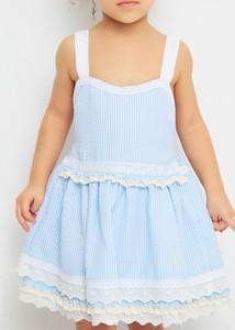 Niebieska sukienka dziewczęca Anima By Justyna Steczkowska