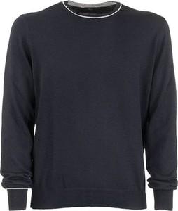 Niebieski sweter Fay z dzianiny