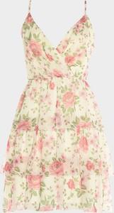 Sukienka Trendyol mini na ramiączkach rozkloszowana
