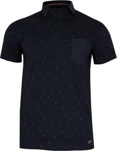 Granatowa koszulka polo Just yuppi