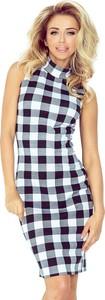 Sukienka MORIMIA mini dopasowana w stylu casual