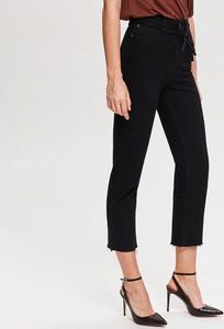 bc74141de00f Czarne spodnie damskie Reserved