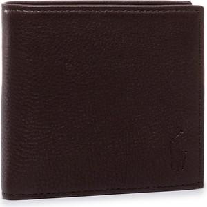Brązowy portfel męski POLO RALPH LAUREN