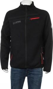 Czarna kurtka Spyder krótka w stylu casual