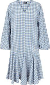 Niebieska sukienka Pieces mini