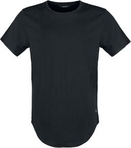 Czarny t-shirt Emp w stylu casual z bawełny
