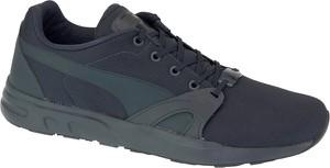 Granatowe buty sportowe Puma w sportowym stylu trinomic