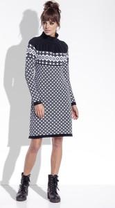 Sukienka TAGLESS mini z długim rękawem
