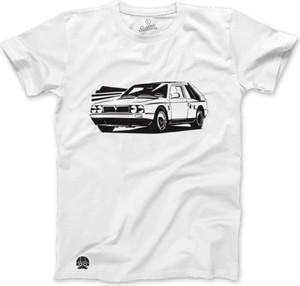 T-shirt sklep.klasykami.pl z krótkim rękawem z dzianiny