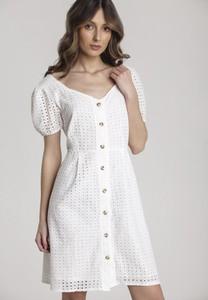 Sukienka Renee mini w stylu casual z krótkim rękawem