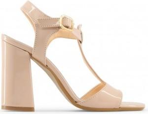 Sandały Made In Italia z klamrami na słupku