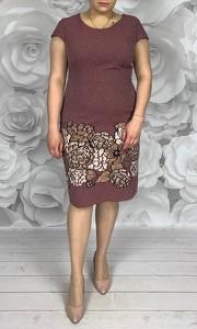 Sukienka Dorota w stylu casual z tkaniny
