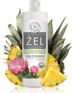 e-FIORE Żel do mycia ciała z opuncją figową i ananasem 250 ml