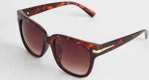 Brązowe okulary damskie Diverse