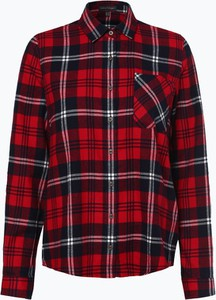 3bf9342b15647e Czerwona koszula Franco Callegari z długim rękawem