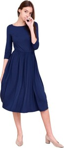 Sukienka Marie Zélie z okrągłym dekoltem