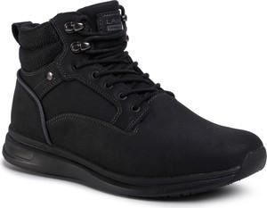 Czarne buty zimowe eobuwie.pl