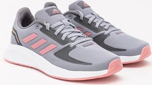 Buty sportowe Adidas z zamszu z płaską podeszwą