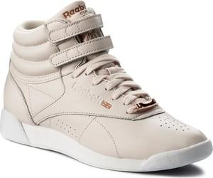 Buty sportowe Reebok z płaską podeszwą w sportowym stylu sznurowane