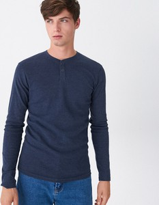 Niebieska koszulka z długim rękawem House z długim rękawem