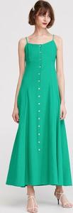 Sukienka Reserved z dekoltem w kształcie litery v maxi