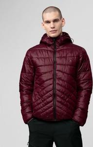 Czerwona kurtka 4F krótka w stylu casual