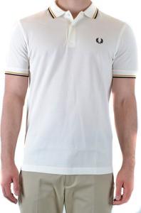T-shirt Fred Perry w stylu casual z krótkim rękawem