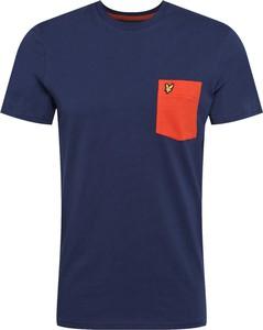 T-shirt Lyle & Scott z krótkim rękawem
