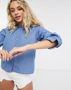 Niebieska koszula Only z jeansu