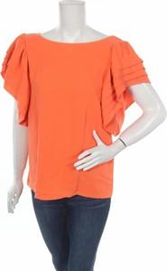 Pomarańczowa bluzka See u Soon w stylu casual