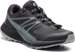 Granatowe buty sportowe Salomon