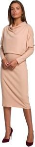 Sukienka Style z długim rękawem w stylu casual