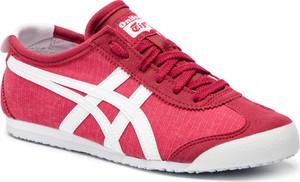 Buty sportowe ASICS w młodzieżowym stylu sznurowane