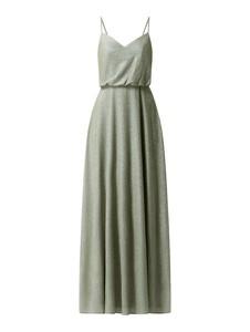 Sukienka Laona z dekoltem w kształcie litery v maxi
