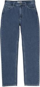 Niebieskie jeansy Carhartt WIP z bawełny w stylu casual