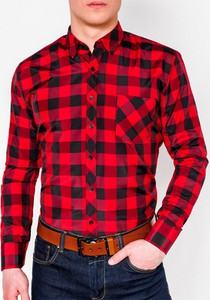 Koszula Ombre z długim rękawem