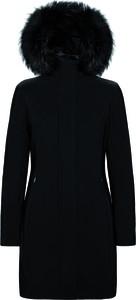 Czarny płaszcz Rrd w stylu casual