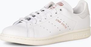 Buty sportowe Adidas Originals z płaską podeszwą z tkaniny stan smith