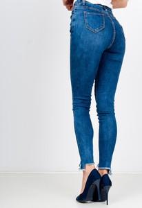Niebieskie jeansy Zoio z bawełny