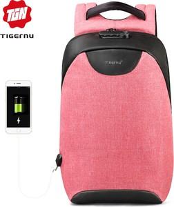 Różowy plecak Tigernu
