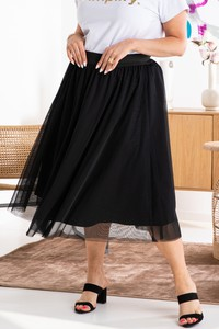 Spódnica KARKO z tiulu midi